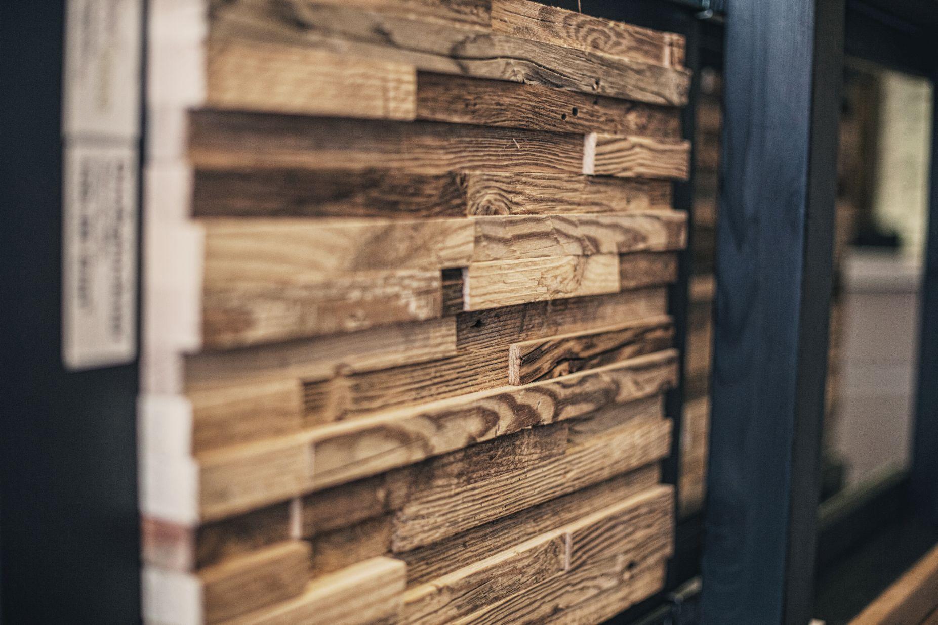 Holzpaneele bei Ege Raum & Design