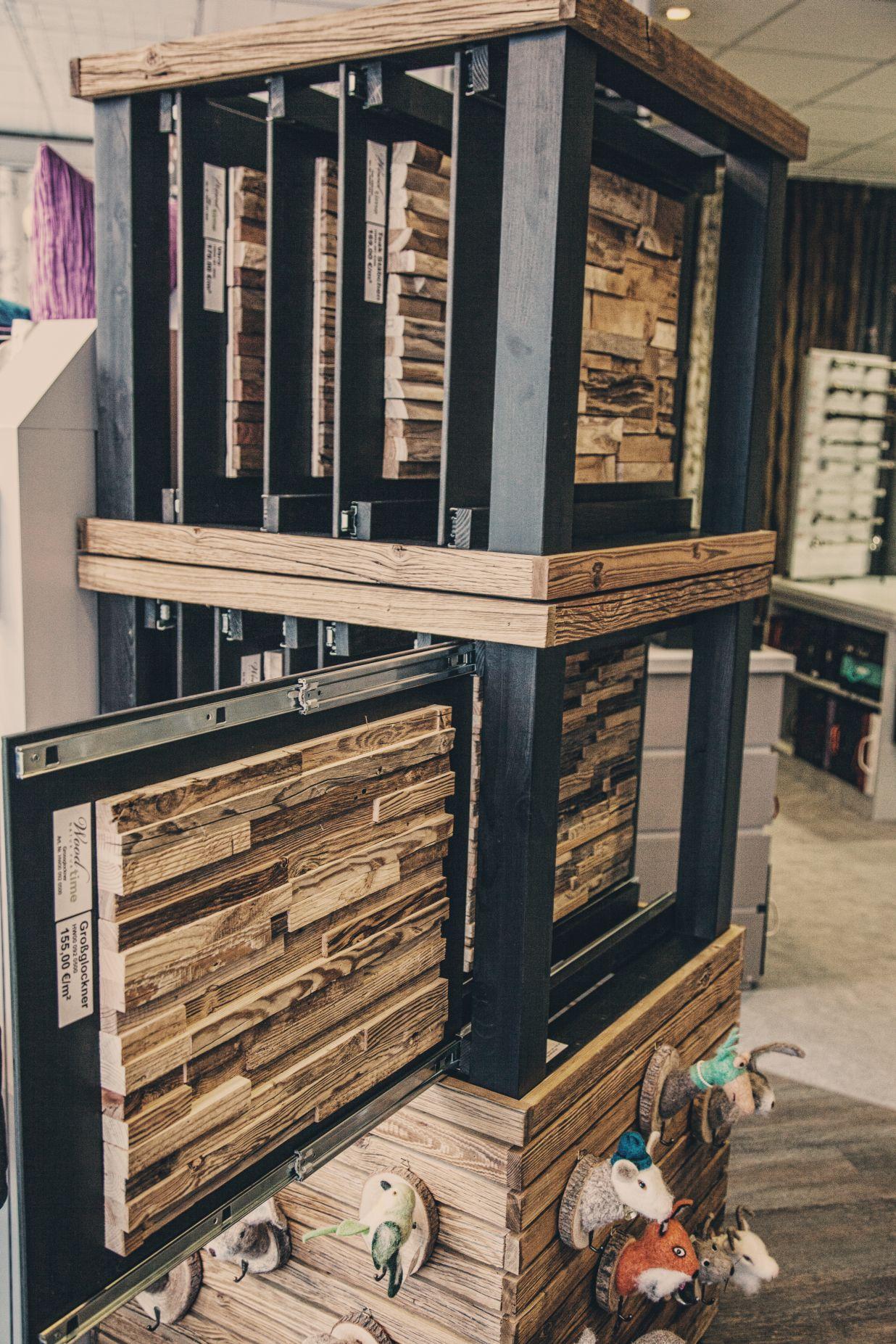 Holzpaneele bei Ege