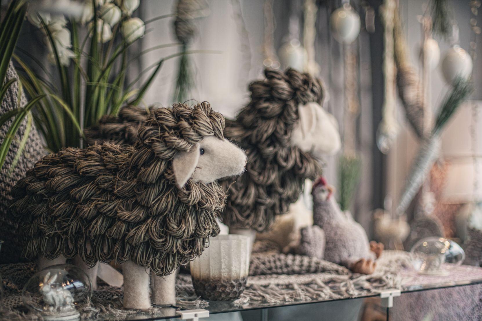 Deko Schafe bei Ege