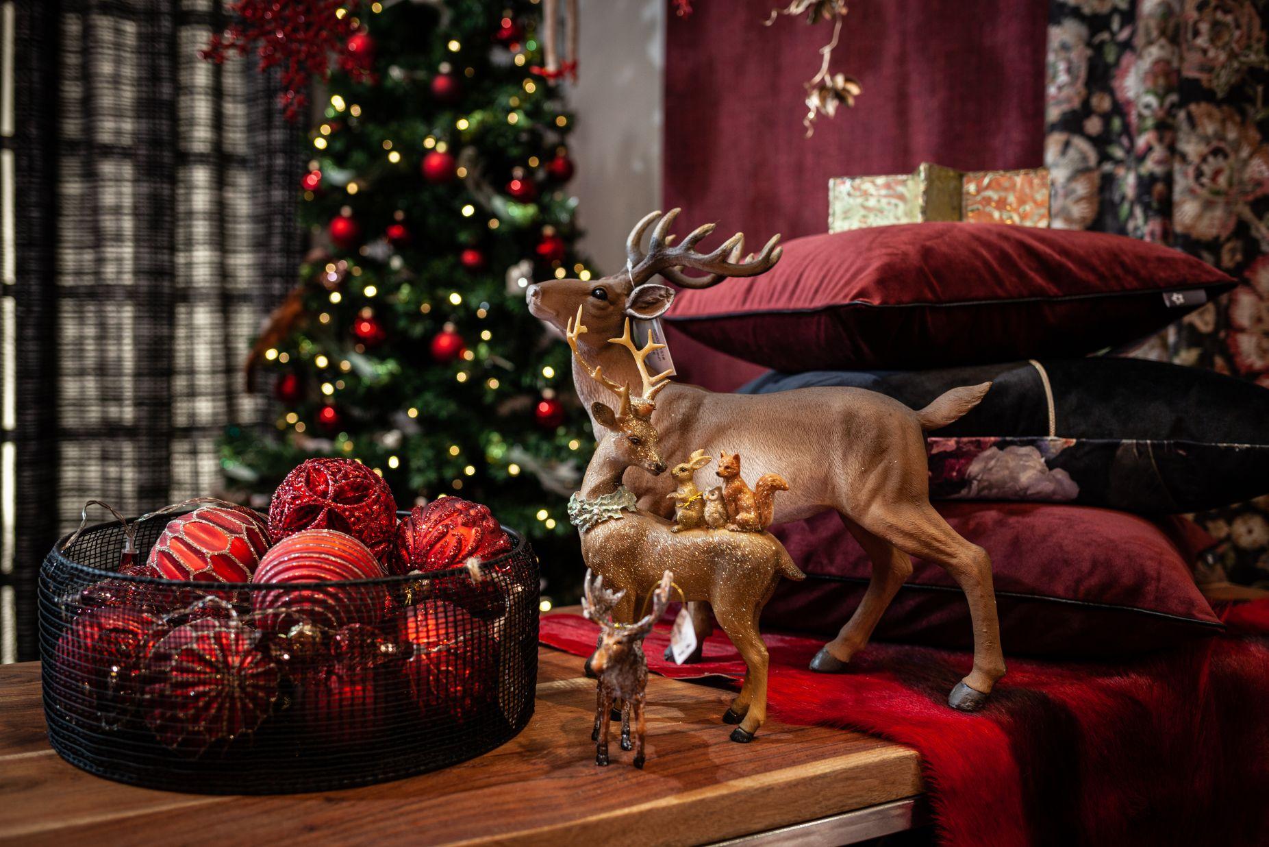 Weihnachtsdeko Tier-Figuren bei Ege Raum & Design Mühldorf